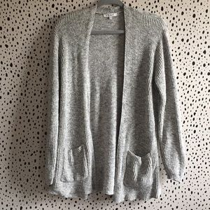 Madewell cardigan size large off-white with black